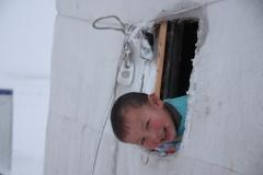 Утро после пурги / Morning after a snowstorm