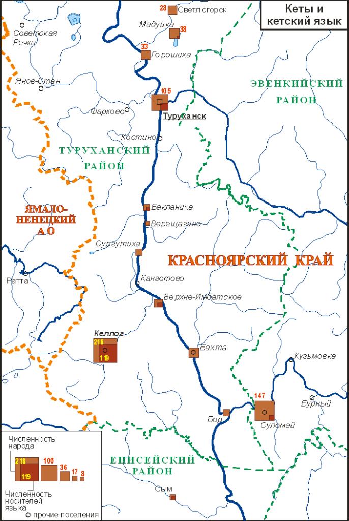 Кеты и кетский язык (2010); автор Ю.Б.Коряков