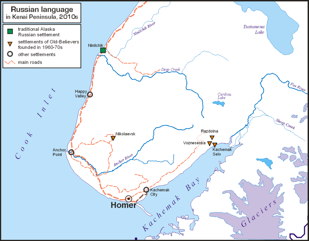 Russian language in Kenai Peninsula