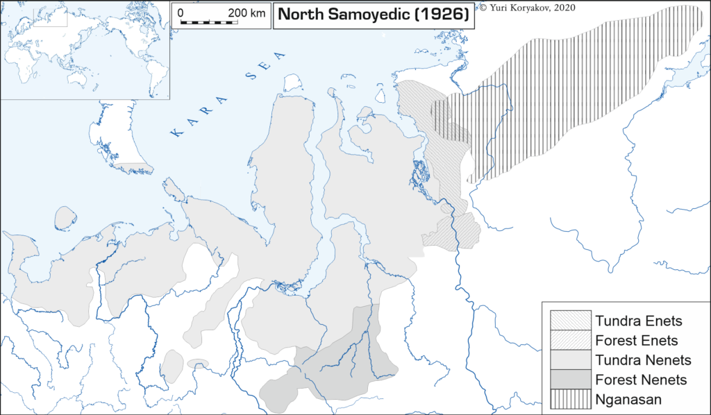 North Samoedic, 1926;