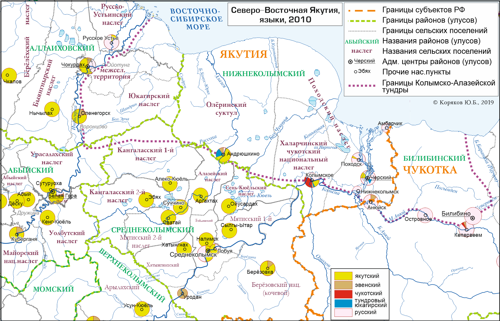 Языки Северо-Восточной Якутии