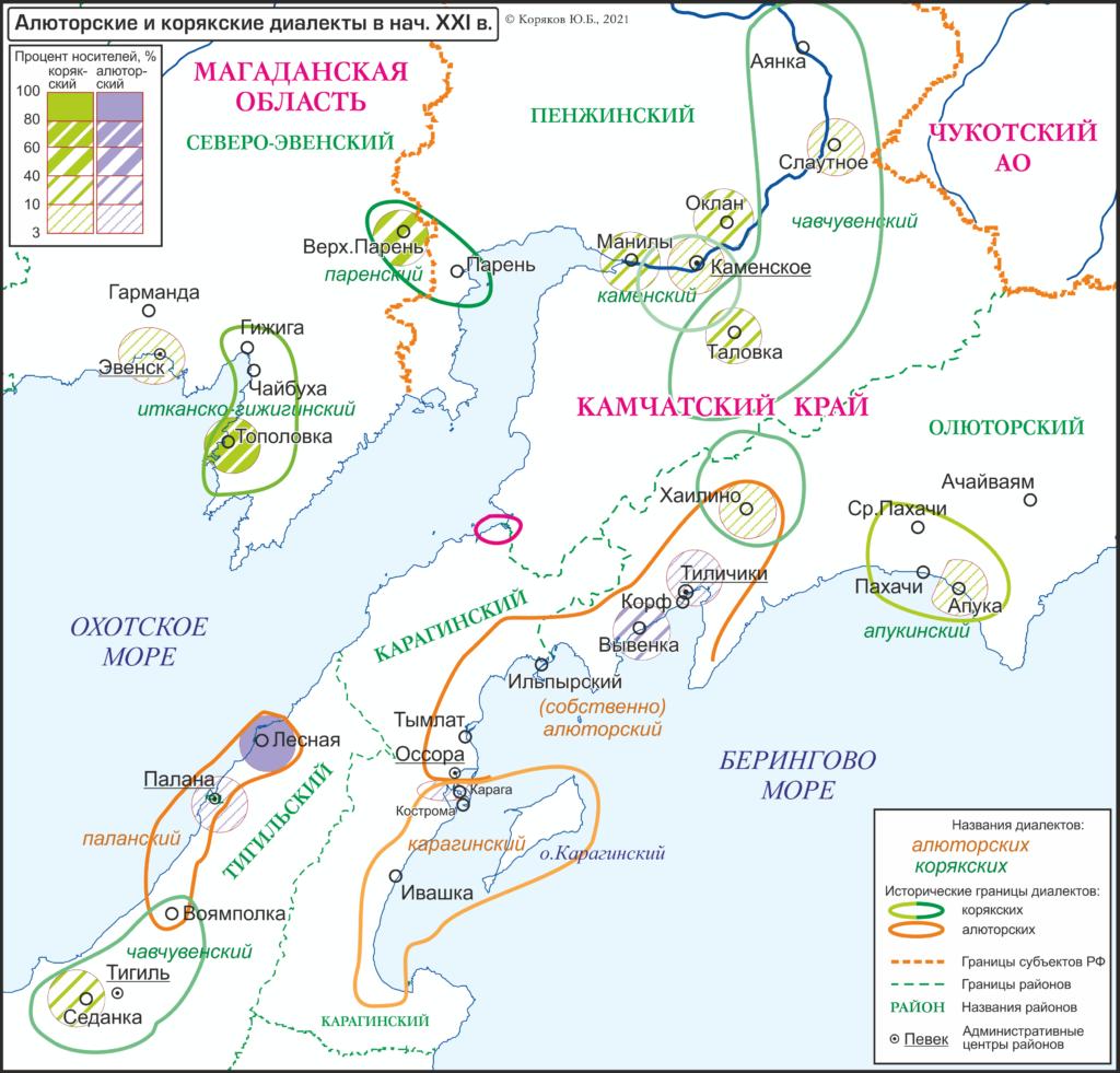 Алюторские и корякские диалекты